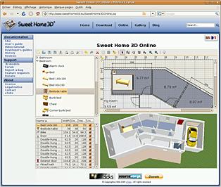 Dise o de interiores con linux open tecnologico for Programa diseno interiores